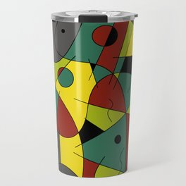Abstract #226 The Cellist #2 Travel Mug