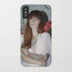 Hattie Floral Slim Case iPhone X