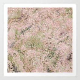 AGATE STONE Art Print