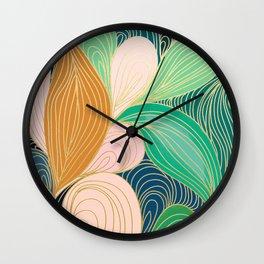 Swirly Interest Wall Clock