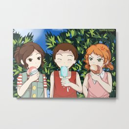 Human Trio #2 Metal Print