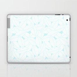 Leaves in Ice Laptop & iPad Skin