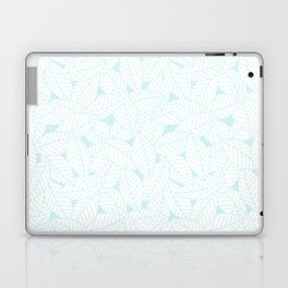 Leaves in Ice Laptop & iPad Skin