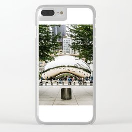 The Bean Clear iPhone Case