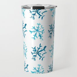 Simply Snowflakes Travel Mug