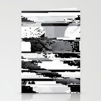 glitch Stationery Cards featuring Glitch by poindexterity