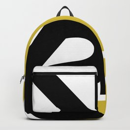Kia Sterling Black/Gold Backpack