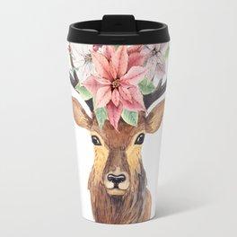 Winter Deer 3 Travel Mug