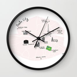 Great cities illustrated: Dublin Wall Clock