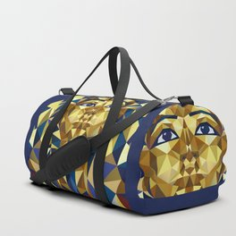 Golden Tutankhamun - Pharaoh's Mask Duffle Bag