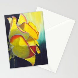 Solitary Rose Stationery Cards