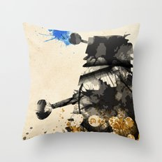Doctor Who Dalek Rustic Throw Pillow