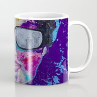 sunglasses Mugs featuring Sunglasses by Wendistry