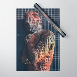 spartacus in voxel Wrapping Paper