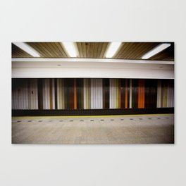 Prague Underground Canvas Print