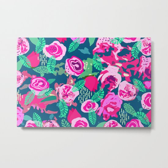 Royal Roses #society6 #decor #buyart Metal Print