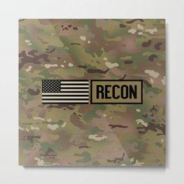 Recon (Camo) Metal Print