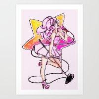 jem Art Prints featuring Jem! by Laffi Love