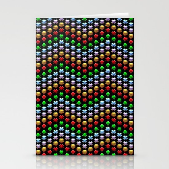 Beaded Chevrons Stationery Cards