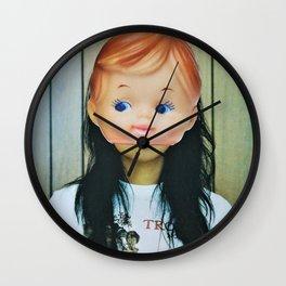 Kewpie Girl Wall Clock