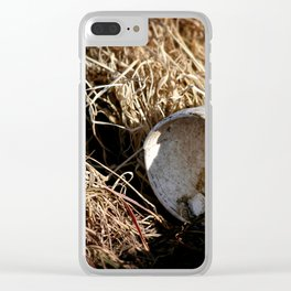 Waste Clear iPhone Case