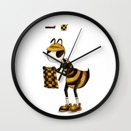Chose bee Wall Clock