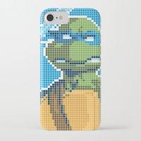 teenage mutant ninja turtles iPhone & iPod Cases featuring Teenage Mutant Ninja Turtles - Leonardo by James Brunner