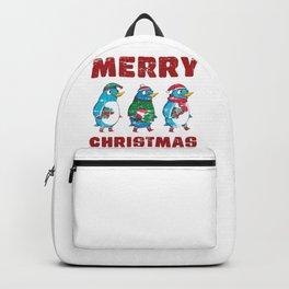 Trio Chrismas Penguins Backpack