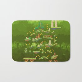 Jungle Jump Game Bath Mat