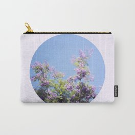 Jacaranda Tree Carry-All Pouch