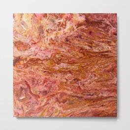 SoapsAndRoses.ART: Fluid Lava Metal Print