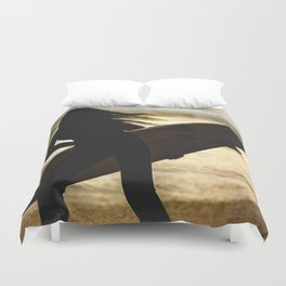 Time to catch the wave Duvet Cover