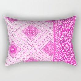 Chamak Pink Rectangular Pillow