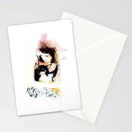 My lovely dog  Stationery Cards