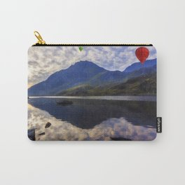 Balloon Flight At Sunrise Carry-All Pouch