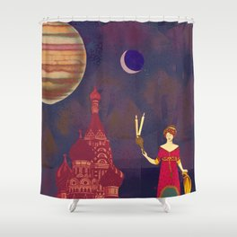 Hekate Shower Curtain