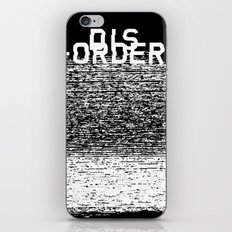 Dis-order (Inverted) iPhone & iPod Skin