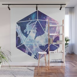 D20 Dragon Bright Soul Wall Mural