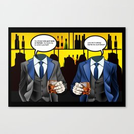 A Headless Halloween Canvas Print