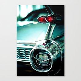 Tail Lights Canvas Print