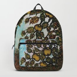 The Apple Tree (La Pommier) by Seraphine Louis Backpack