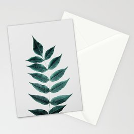 Leaves 3A Stationery Cards