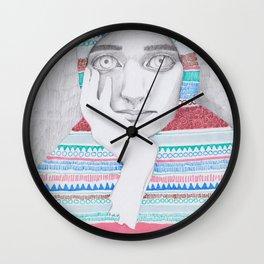 A Traveler 02 Wall Clock