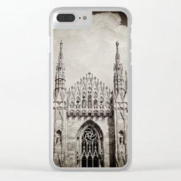 Duomo of Milan Clear iPhone Case