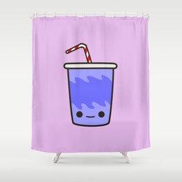 Yummy kawaii soft drink Shower Curtain