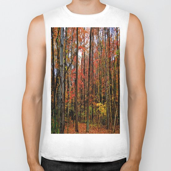 Sometimes the Trees Scream Biker Tank