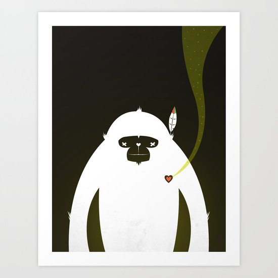 PERFECT SCENT - BIGFOOT 雪人 . EP001 Art Print