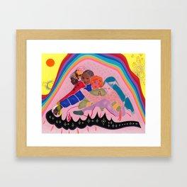 Mysteries of Love Framed Art Print