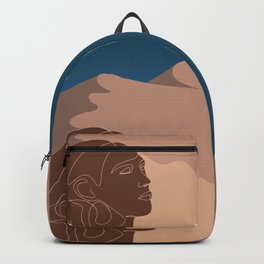 Woman Bitterness Backpack