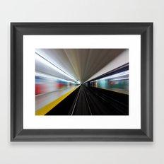 Speed No 2 Framed Art Print
